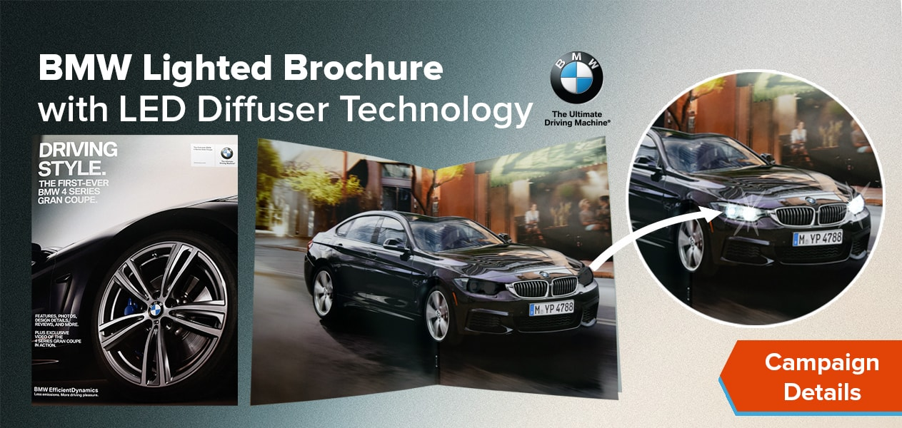 bmw lighted brochure